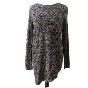 Pure Jill Marled Cotton Wool Cashmere Sweater